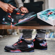 Air Jordan 5 Retro Low CNY Chinese Kite Men's Basketball Shoes Outdoor Spor