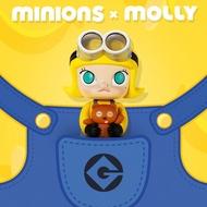 (現貨)Molly 茉莉女孩 X Minions 小小兵 聯名大型公仔