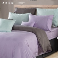 AKEMI Cotton Select Affinity - Alec Judith (Pastel Lilac/ Quilt Cover Set)