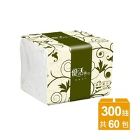 【Livi 優活】單抽式柔拭紙巾(300抽x60包)