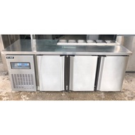 《祥順餐飲設備》二手瑞興六尺沙拉吧工作台冰箱/六尺沙拉吧工作台冰箱/六尺冷藏配料台冰箱/180*60*80/6格