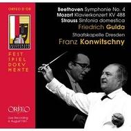 C839112 孔維茲尼/貝多芬/莫札特/理查史特勞斯(1961年薩爾茲堡現場錄音) Konwitschny conducts Beethoven, Mozart & Strauss (Orfeo)