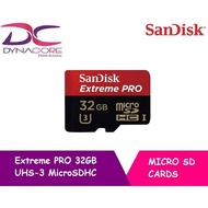 Sandisk SD Extreme Pro UHS 32GB 95MB/s (Limited Lifetime Warranty)