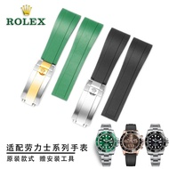 Rolex Silicone Log Type Moving Watch With Submarine