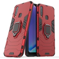 Hard Case Vivo Y17 Y 17 VivoY17 Case Shockproof Ring Bracket Back Cover Vivo Y17 Case Stand Casing