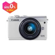 กล้อง / กล้องถ่ายรูป Canon MIRRORLESS รุ่น EOS M100 EFM15-45 IS STM (สีขาว) ประกันศูนย์แคนนอน 1 ปี