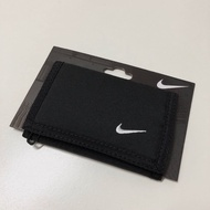 Gogosneaker ®️Nike Wallet Basic 錢包 皮夾 零錢包 拉鍊包 卡夾 黑白 藍色 帆布魔鬼氈