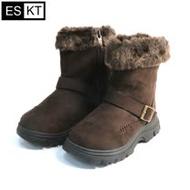 ESKT 兒童雪鞋SN222 / 城市綠洲 (雪靴、防潑水、刷毛、冰爪)