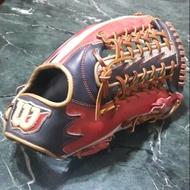 二手 中古 WILSON 軟式 外野 棒球 壘球 手套