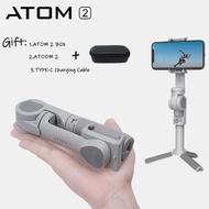 Snoppa Atom 2สมาร์ทโฟน3-แกนตัวทำให้หูจับมั่นคงกับขาตั้งสำหรับ Iphone Huawei Xiaomi โทรศัพท์ Selfie Stick