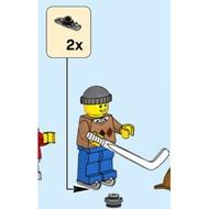 【LEGOVA樂高娃】LEGO 樂高 10263-7 曲棍球員 下標前請詢問