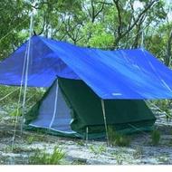 Flysheet Ultralight Waterproof Size 4x6 - 3x4 - 3x3 Meters Full Sealed 19 Hole - Flysheet Tent ( | Flysheet Ultralight Waterproof Ukuran 4x6 - 3x4 - 3x3 Meter Full Sealed 19 Lubang - Flysheet Tenda (
