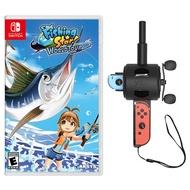 NS 任天堂 Switch 釣魚明星 世界巡迴賽 釣竿同捆組 中文版