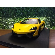 1/18 TopSpeed McLaren 570S Volcano Yellow TS0046【MGM】
