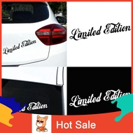 ♉SP Limited Edition Letters Car-Styling Vehicle Reflective Decals Sticker Decor