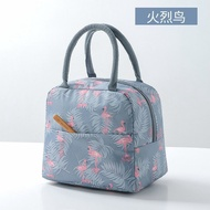 New Canvas Waterproof Increased Size Bento BoxesPortable bento bag large lunch box cassette rice handbag insulation wat