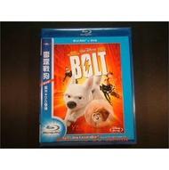 [藍光BD] - 雷霆戰狗 Bolt BD + DVD 雙碟限定版 ( 得利公司貨 ) - 有國語發音