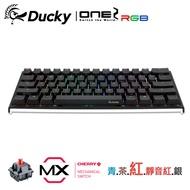 Ducky One 2 Mini RGB 機械式鍵盤 紅軸 英文 RGB 黑色 PBT二色