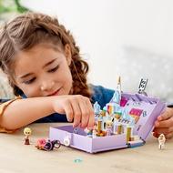 【樂在遊木】樂高積木43175迪士尼公主冰雪奇緣立體書女孩兒童益智拼裝玩具