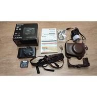 Panasonic DMC-LX10 類單眼數位相機 完整盒裝 含相機皮套與背帶 本體8成新 二手