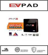 【NEW】 EPLAY MCMC & SIRIM APPROVED Android Smart TV Box tvbox IPTV 3R 8GB MEMORY EVPAD FACTORY 2019 Malaysia version lifetime free auto update Global Movies & Adult Channel (Fully Installed) 1 Year Warranty