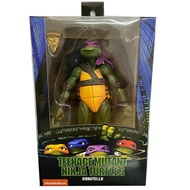 Eiffel Donatello Action Figure Raphael Michelangelo Leonardo Turtle Classic Movie 1990's Film Toys Gift 18cm