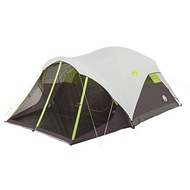 Coleman Steel Creek Fast Pitch Dome Tent with Screen Room, 6-Person -US