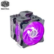 CoolerMaster 酷碼 MasterAir MA621P RGB CPU散熱器 (TR4專用/6導管/MF120R RGB風扇*2/高164.5mm/內含RGB LED 控制器)