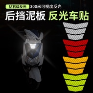 [Summer] Fender Reflective Stickers Electric Motorcycle Safety Warning Stickers