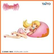 🔥สินค้าขายดี🔥 ฟิกเกอร์แท้ JP Monogatari Series - Oshino Shinobu - Donut Cushion ##โมเดลรถ ของเล่น ของสะสม รถ หุ่นยนต์ ตุ๊กตา ของขวัญ เด็ก โมเดลนักฟุตบอล อุปกรณ์เสริม ฟิกเกอร์ Toy Figure Model