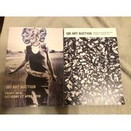日本sbi art auction 藝術拍賣目錄,非蘇富比佳士得羅倫奧、村上隆、中村萌、奈良美智、六角彩子