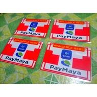 laminated Signage Gcash&Paymaya