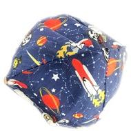 小禮堂 史努比 安全帽內襯 安全帽墊 帽套 (深藍 外太空)