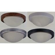 LED吸頂燈/陽台燈/E27燈頭/單燈/雙燈(白框/銀框/黑框/木紋框可供選擇)