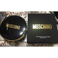 韓國TONYMOLY x MOSCHINO經典黑金版氣墊粉底