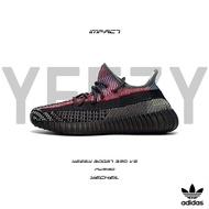 Adidas Yeezy Boost 350 V2 Yecheil 黑 拼接 彩虹 鞋帶反光 FW5190 IMPACT
