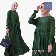 Sisil Maxi Baju Gamis Wanita Terbaru 2020 Kekinian Gamis Terbaru 2020 Modern Remaja Gamis Jumbo Modern Gamis Wanita Remaja Baju Wanita Terbaru 2020 Gamis Murah Bagus Gamis Pesta Mewah Elegan Kaftan Wanita Gamis Modern Simple  Baju Wanita OOTD Hijab