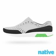 native 小童鞋 LENNOX 小雷諾鞋-鴿子灰x貝殼白x瞬黑