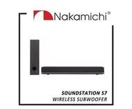 Nakamichi SoundStation S7 Soundbar Wireless Sub Woofer