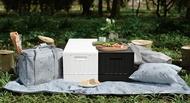 樹德 收納箱 收納櫃 貨櫃箱 儲物箱 側開貨櫃箱FB-6432S/雪白