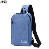 Johnn 2020 คนใหม่ของกระเป๋าหน้าอกกระเป๋าแนวทแยงกระเป๋าเดินทางที่เดินทางมาพักผ่อนกระเป๋าสะพายกลางแจ้งแบบพกพาขี่