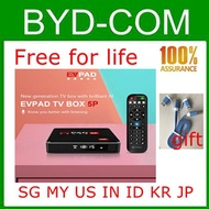 EVPAD 5PRO stable and smooth Android TV BOX 4gb 32gb EVPAD 5P best Streaming box