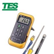 【TES 泰仕】TES-1306 K/J 數位式溫度錶(數位式溫度錶 溫度錶 溫度計)