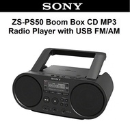 Sony ZS-PS50 Boombox Portable Radio FM/AM MP3 CD Player with USB