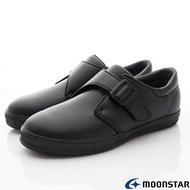 日本月星Moonstar機能童鞋-黑皮鞋系列22246黑(中大童段)