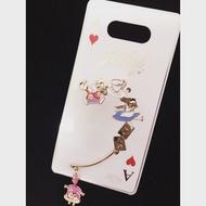 正版愛麗絲單耳耳掛式耳環(另附贈迪士尼包裝袋)