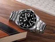 【時計小舖】CHENXI晨儀 可旋轉數字刻度外圈石英腕錶/日期顯示功能/似水鬼款/經典款/黑水鬼