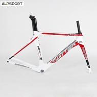 ALP TWITTER Full Carbon Road Bike Frame 700c Carbon Fork Seat Post 46/48/50/52/54cm Sniper 2.0 V Brake or Caliper Brake