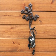 【新源賣場】一宅一景|花園雜貨壁掛動物鑄鐵壁虎掛鉤