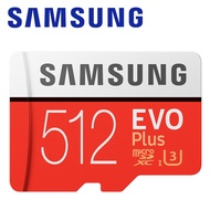 附轉卡 SAMSUNG 三星 512GB 512G 100MB/s EVO Plus microSDXC TF U3 C10 記憶卡